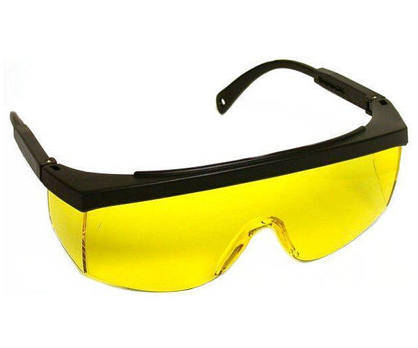 Economy Safety Glasses Yellow