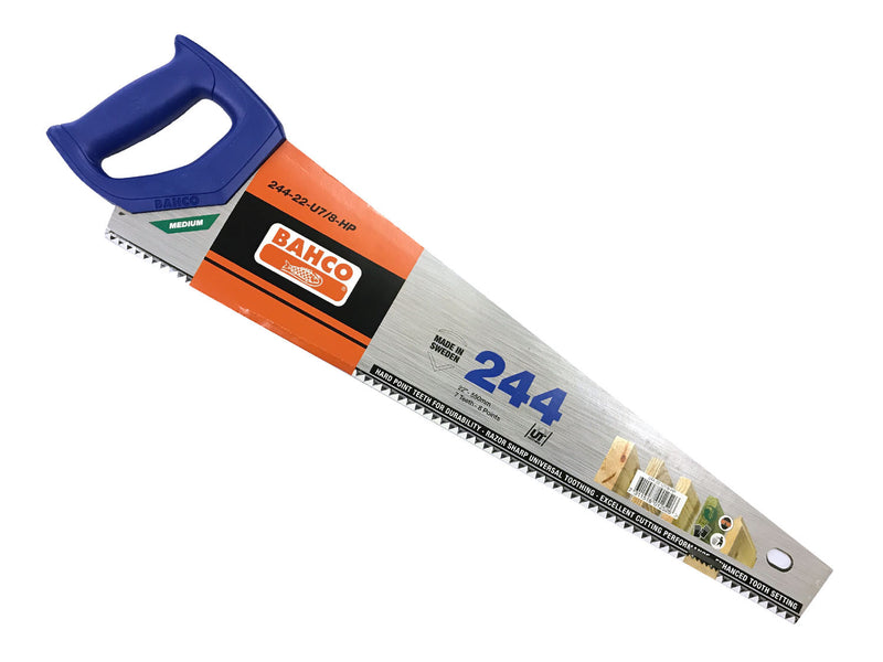 Bahco 244 Hardpoint Saw 22""