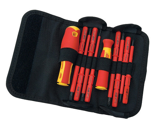 Draper Expert 10 Piece VDE Interchangeable Screwdriver Set
