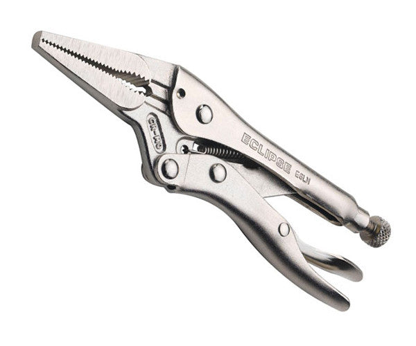 Eclipse E6LN Long Nose Locking Plier 6 Inch