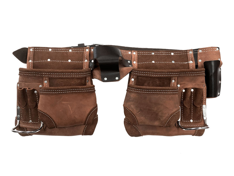 Crazy Horse Double Leather Tool / Nail Bag
