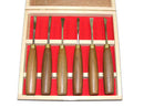 6pc Luban Wood Carving Chisel Set