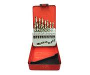 19pc HSS Drill Bit Set 1-10mm