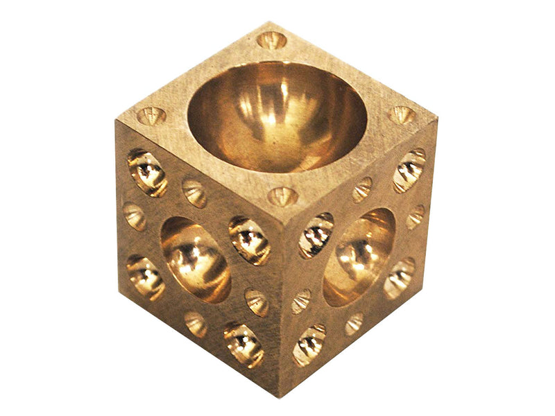 Small Brass Doming Block