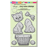 Pop Up Kitties Stamp