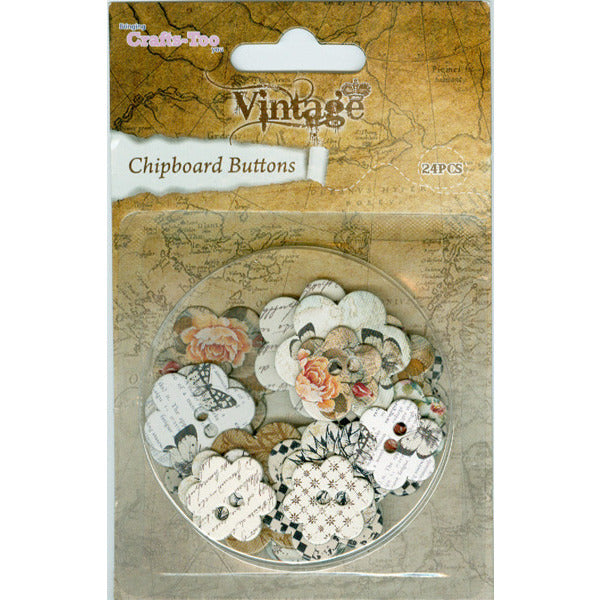 Chipboard Buttons