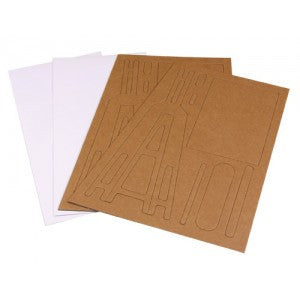 Large Novelty Easel Cards