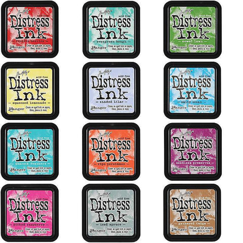 Distress Ink Pads - Water Based - Various Colours