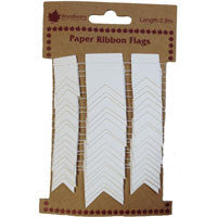 Paper Ribbon Flags