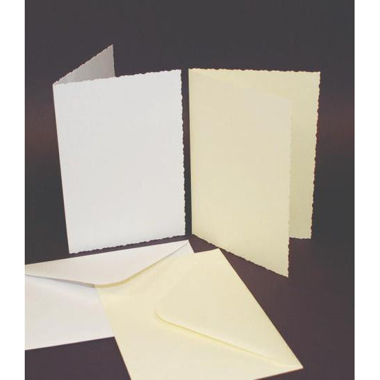C6 Deckle Cards with Envelopes