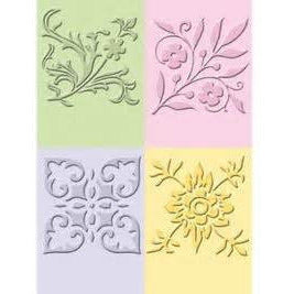 Background Embossing Folders 14,4cmx16cm - Various options