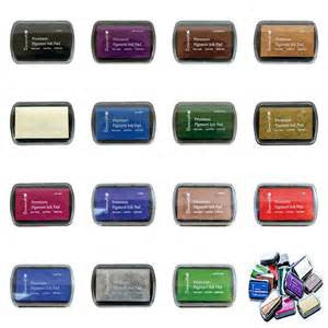 Pigment Ink Pads - Various options