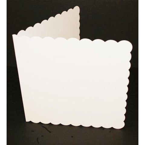 "8"" x 8"" Scalloped Edged Cards With Envelopes"