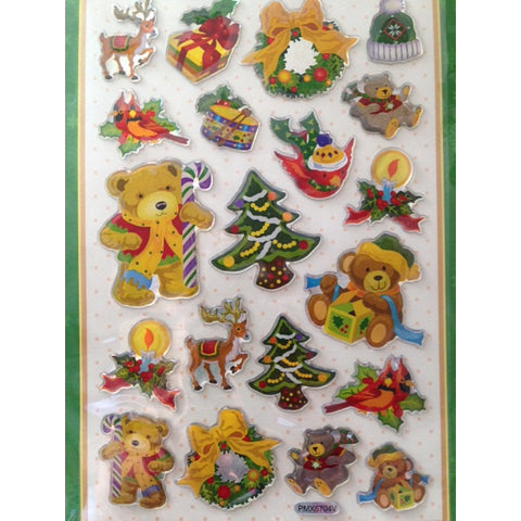 Stickers for Christmas - Crystal 3D