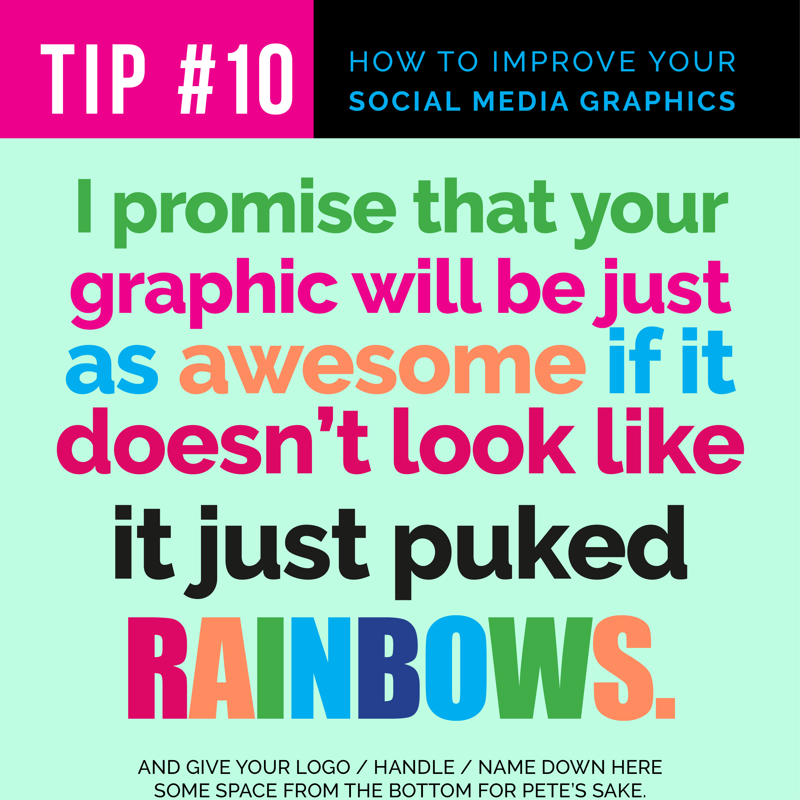 Tip #10: Tips for Creating Beautiful Social Media Images