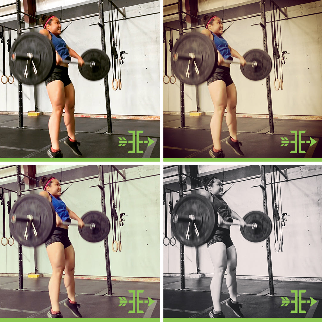 Using the same photography filters so all of your photos look similar - @artofbarbell_