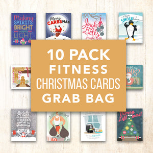 10 Pack X-Mas Card Grab Bag