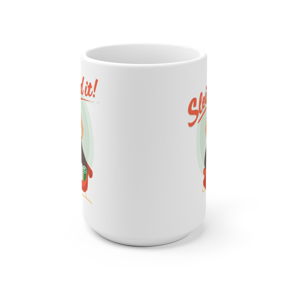 Sleighed It! Coffee Mug
