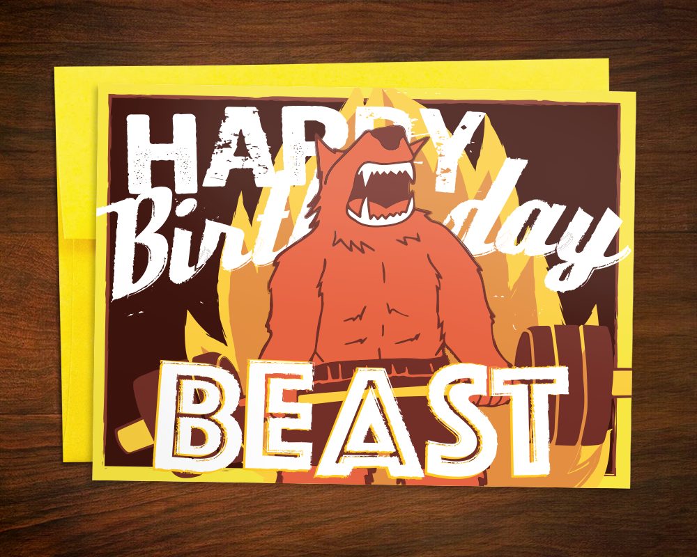 Powerlifting lift weights Birthday Card Powerlifter Deadlift