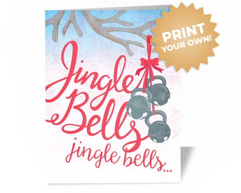 Crossfit Christmas Card - Kettlebell Jingle Bells