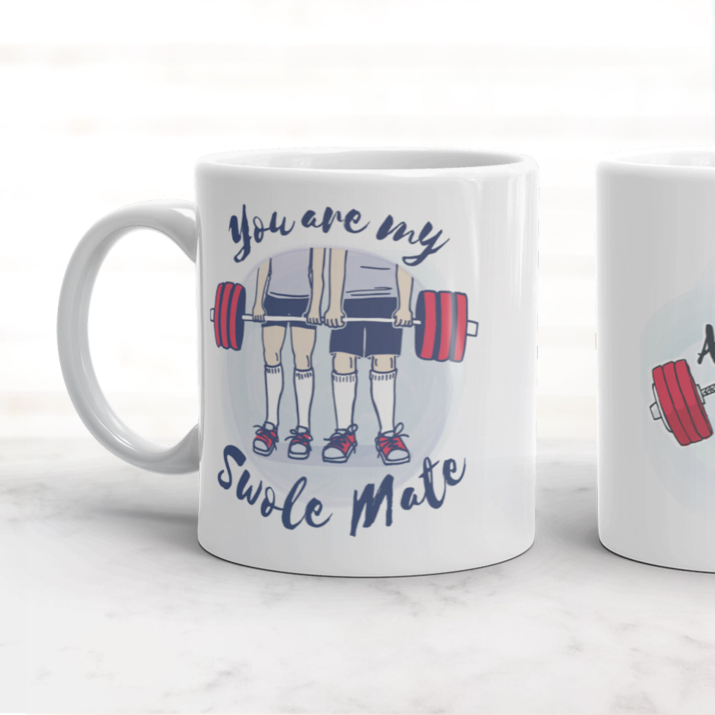 Customized Swole Mate Mug