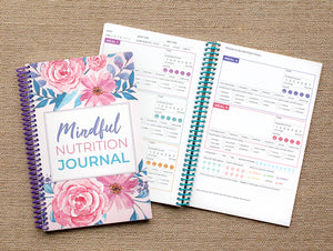 Mindful Eating Journal - Mindfulness Nutrition Journal for Intuitive Eating