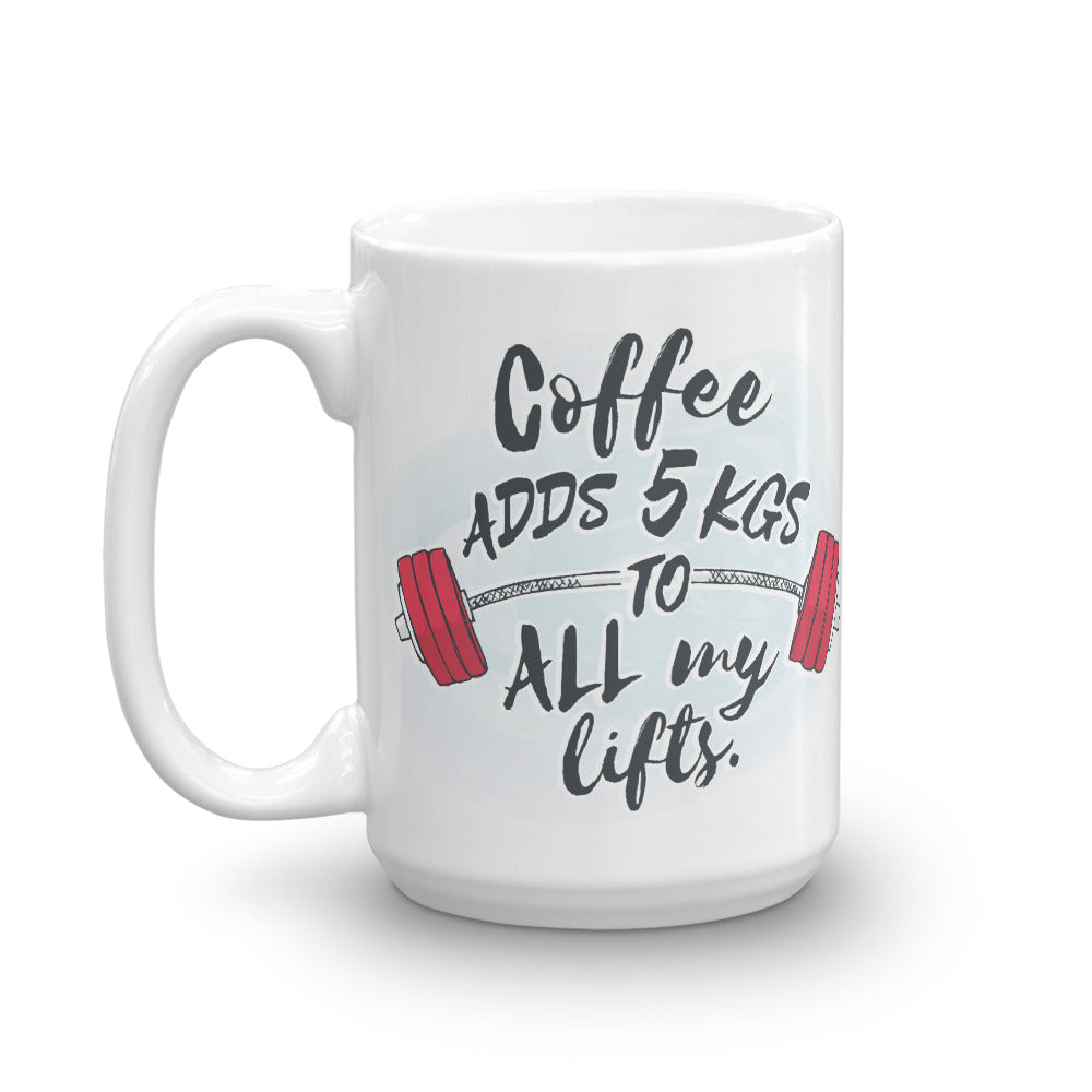 Coffee Adds 5kgs Mug