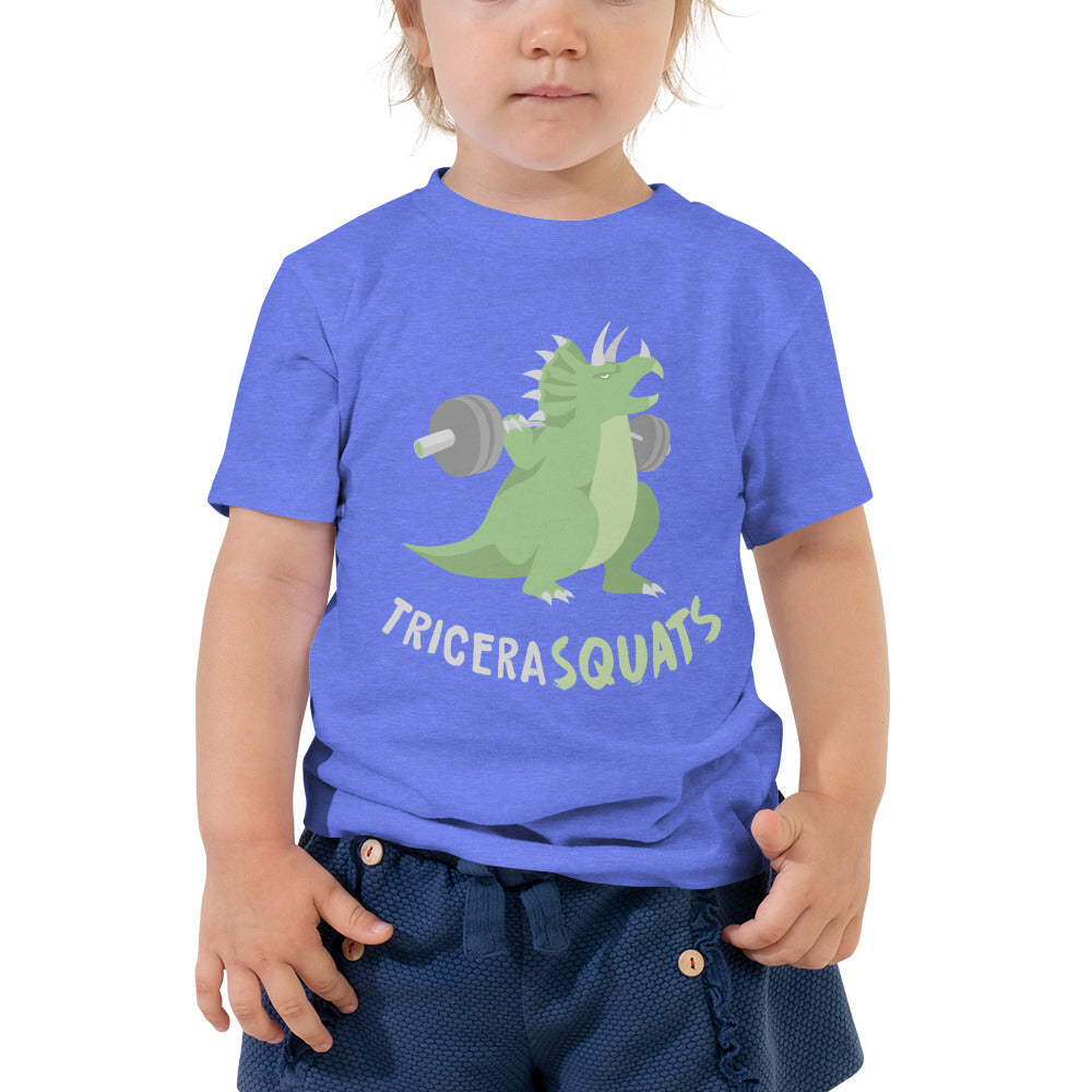 TriceraSQUATS Toddler Tee