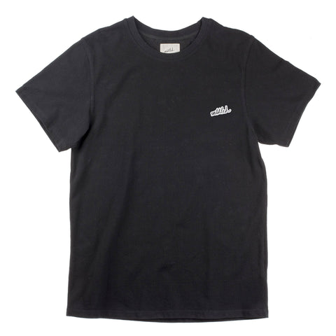 "Pique ""Friends Only"" Tee Black"