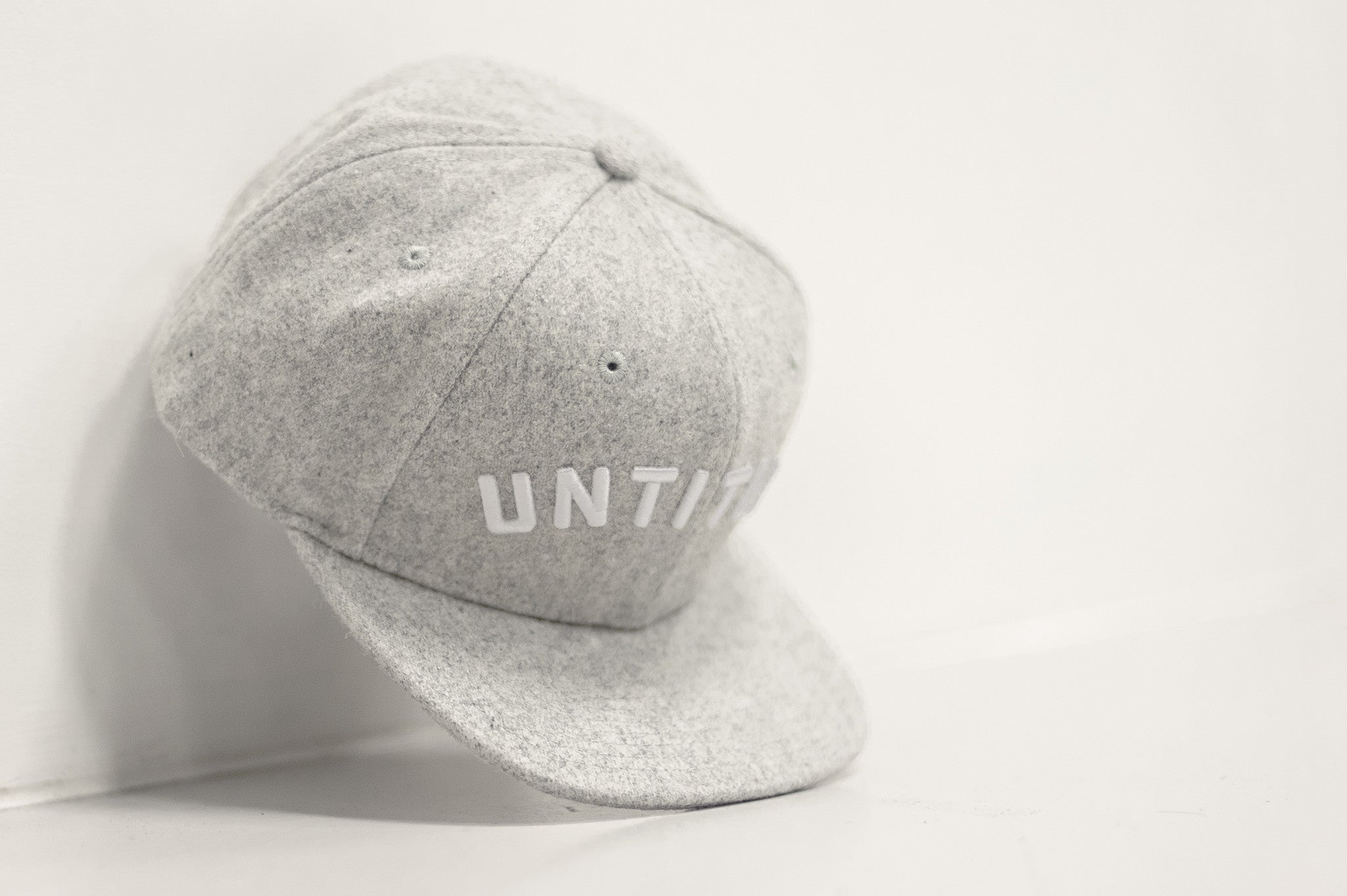 Merino Wool Arc Snapback Lunar Grey