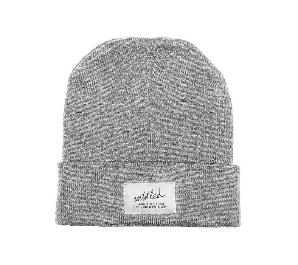 Cold Alaska Beanie Athletic Grey
