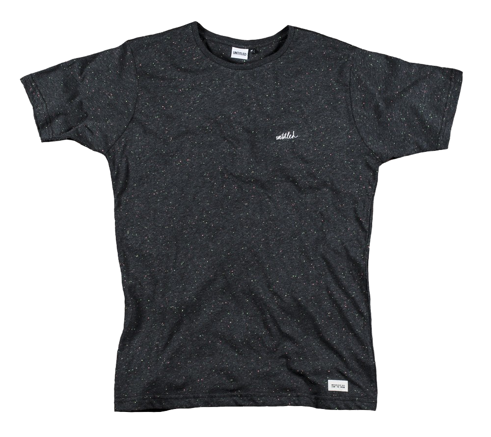 Speckled Tee Heather Black