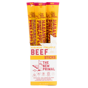 New Primal - Meat Sticks - Habanero Pineapple Beef
