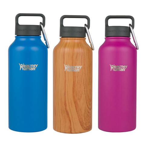 Healthy Human - 32 oz Vacuum Insulated Stainless Steel Steins