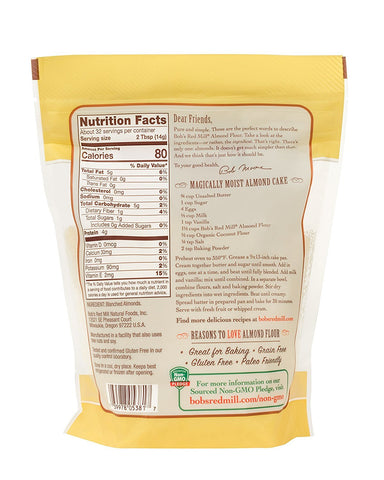 Bob's Red Mill - Almond Flour - 16 oz