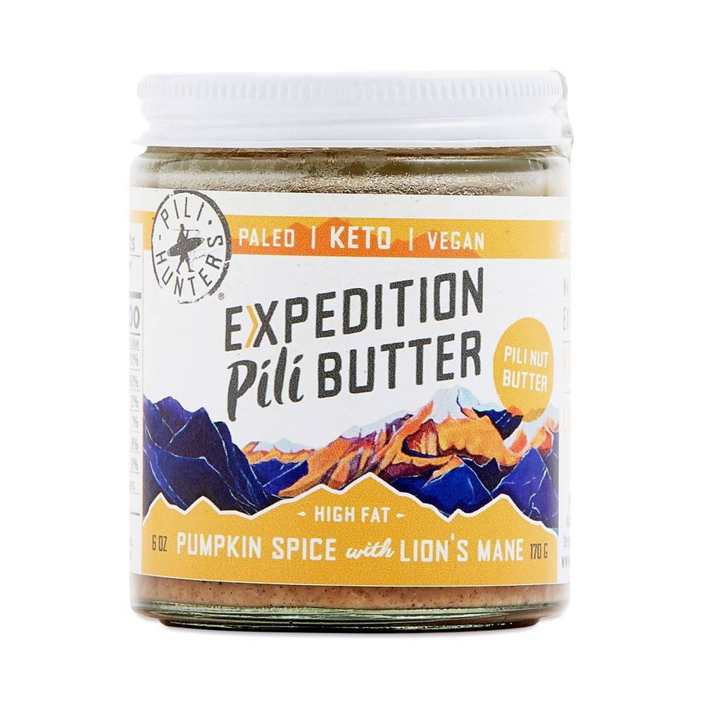 Pili Hunters - Expedition Pili Butter - Pumpkin Spice with Lion's Mane - 6 oz