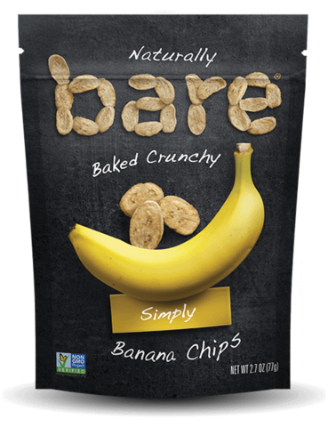 Bare - Crunchy Banana Chips - Simply - 2.7 oz