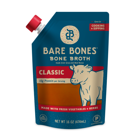 Bare Bones - Bone Broth - Classic Beef - 16 oz