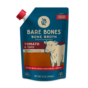 Bare Bones - Bone Broth - Beef Tomato & Spice - 16 oz