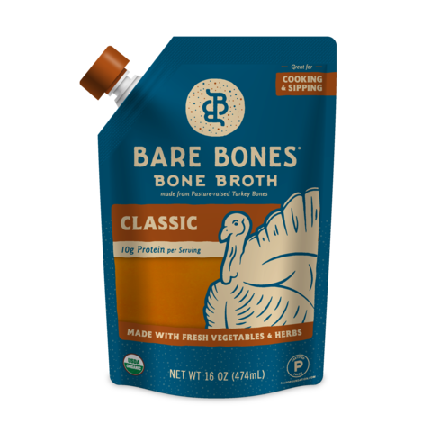 Bare Bones - Bone Broth - Classic Turkey - 16 oz