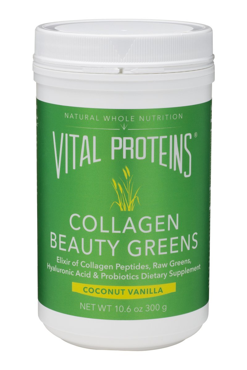 Vital Proteins - Collagen Beauty Greens - Coconut Vanilla - 10 oz