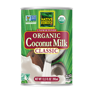 Native Forest - BPA Free Organic Unsweetened Coconut Milk - 13.5 oz