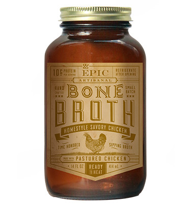 Epic - Bone Broth - Homestyle Savory Chicken - 14 oz