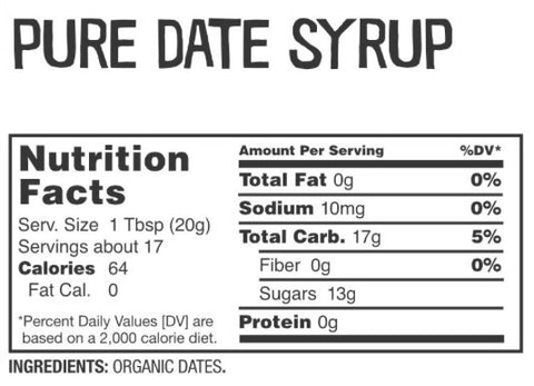 Date Lady - Organic Date Syrup - 12 oz