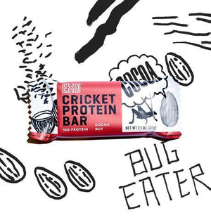 Exo - Cricket Protein Bars - Cacao Nut