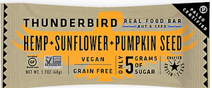 Thunderbird - Real Food Bars - Hemp Sunflower Pumpkin
