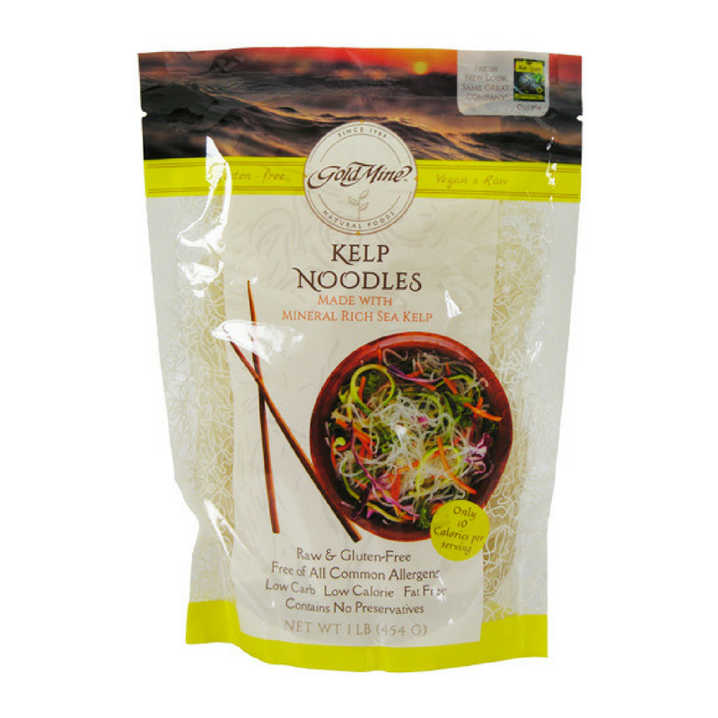 Gold Mine - Raw Vegan Kelp Noodles - 16 oz