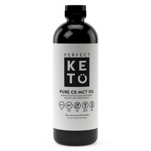 Perfect Keto - 100% Pure C8 MCT Oil - 32 oz