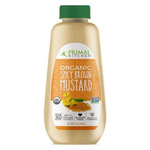 Primal Kitchen - Organic Spicy Brown Mustard - 12 oz