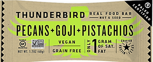 Thunderbird - Real Food Bars - Pecan Goji Pistachio